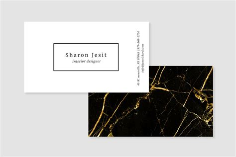 black and gold business card template 29 luxury business card designs exles psd ai