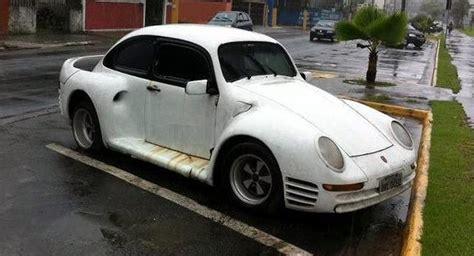 porsche beetle conversion poor s porsche 959 tries to cover its vw bug roots