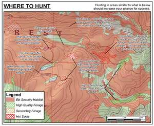 colorado elk migration map guide to elk start my hunt