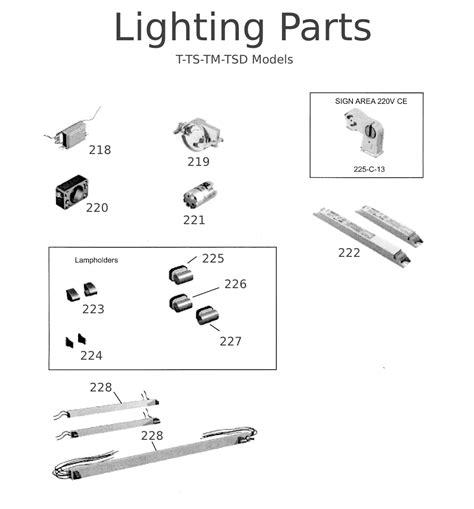 track lighting parts diagram refrigeration true refrigeration door parts
