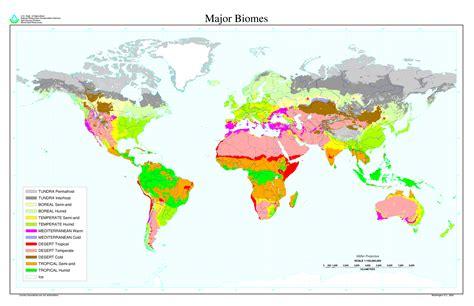 world major biomes  full size