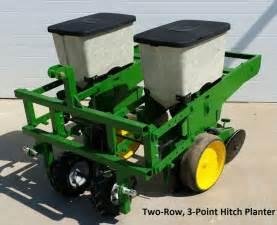 deere 2 row 7000 3 point corn planter food plot ebay