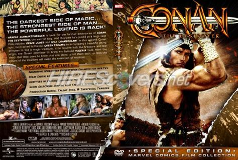conan the destroyer dvd cover dvd cover custom dvd covers bluray label movie art