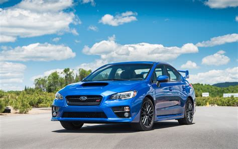 subaru sti 2016 slammed comparison test ford focus rs vs subaru wrx sti vs