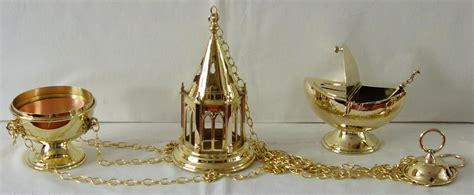 thurible and boat westminster gothic tower thurible and boat