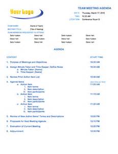 Business Development Meeting Agenda Template by Free Meeting Agenda Templates Smartsheet