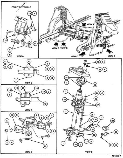 2003 ford taurus rear sway bar diagram imageresizertool