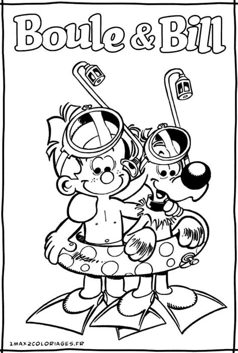 Boule And Bill   AZ Coloring Pages