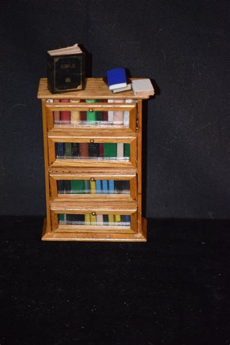 doll house novel vintage doll miniature book case shelf w books for dollhouse from oldeclectics on