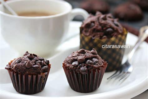 muffin coklat chocolate muffins resepi terbaik
