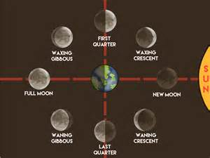 moon phase how to make a moon phases chart 12 steps with pictures