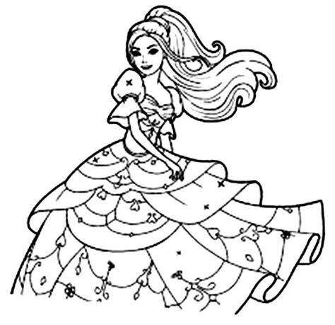 barbie head coloring pages long haired barbie coloring pages bulk color