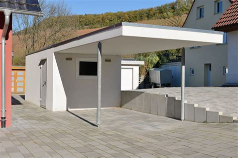 garage am haus garage mit carport am haus loopele