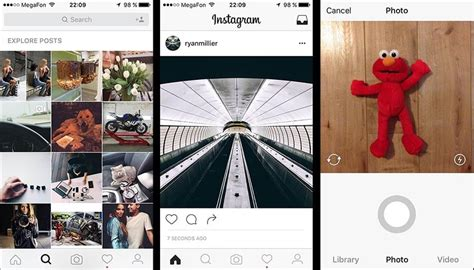 instagram layout tester instagram update reveals a possible new app design