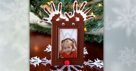 childrenss reindeer christmas crafts images festive reindeer photo frames for the dollar tree