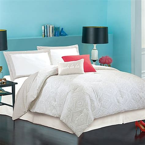 kate spade comforter sets kate spade new york marais comforter set bed bath beyond
