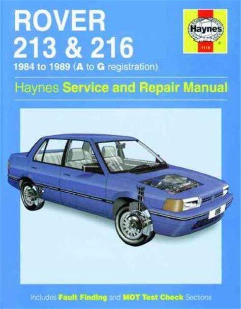 service manual free online auto service manuals 1989 bmw 6 series spare parts catalogs rover 213 and 216 1984 1989 haynes service repair manual sagin workshop car manuals repair