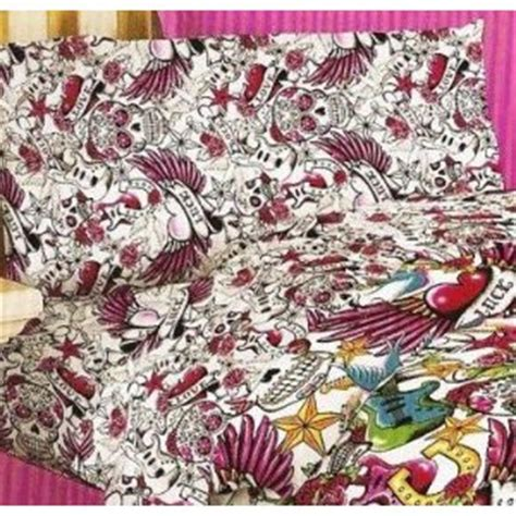 tattoo beds canada set 4 pieces comforter set queen twin king size bed in a