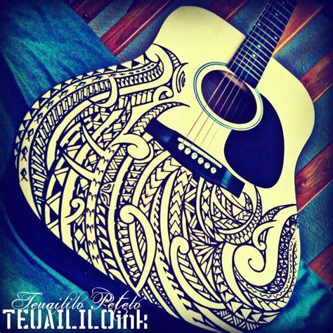 polynesian guitar by tpetelo on deviantart