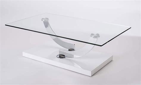 Table Basse De Salon En Verre Design