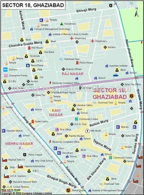 ghaziabad in india map ghaziabad sector 18 locality map ghaziabad