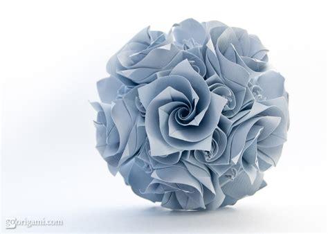 Modular Origami Flower - origami unfold december 2013