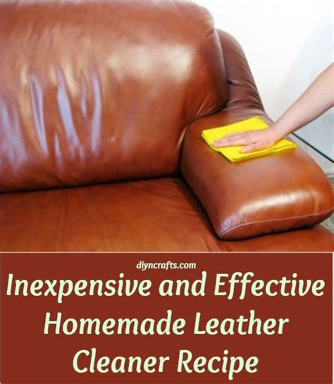 diy leather couch cleaner inexpensive and effective homemade leather cleaner recipe