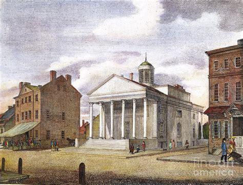 bank of pennsylvania bank of pennsylvania 1800 photograph by granger