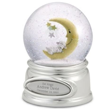 baby snow globe findgift com