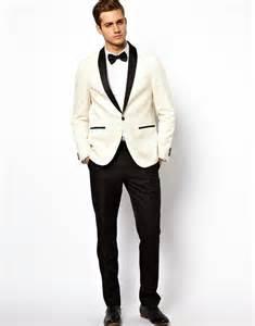 Asos Slim Fit Suit Jacket In Herringbone In Brown For Men Lyst » Home Design 2017
