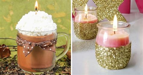 Handmade Candles Ideas - 12 easy handmade candle ideas