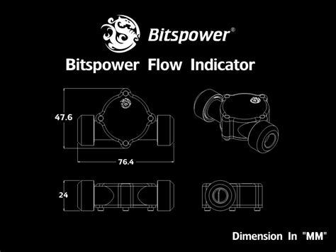 Bitspower Flow Indicator Bp Fi Clbkmbk bitspower flow indicator bp fi clbksl bitspower taiwan on line shop