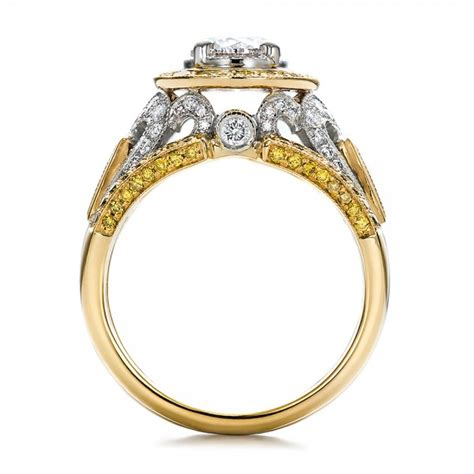 and white gold engagement rings mood rings