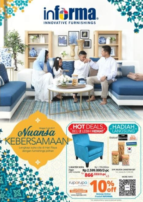 Sofa Informa Terbaru katalog promo informa bulan april 2018 katalog harga