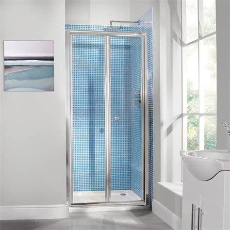 Shower Folding Door Aquafloe 6mm 800 Bi Fold Shower Door