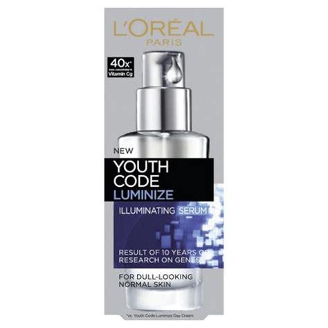 Serum Youth Code buy l oreal youth code luminize serum 30ml from our moisturisers range tesco