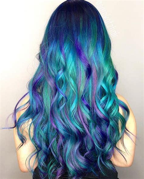 Hairstyle Dye Hair Pictures | mermaid hair pinteres