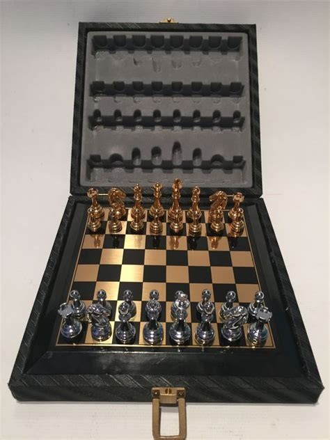 designer chess sets metal designer chess set catawiki