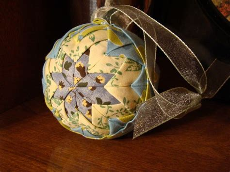 quilted christmas ornament no sew christmas pinterest