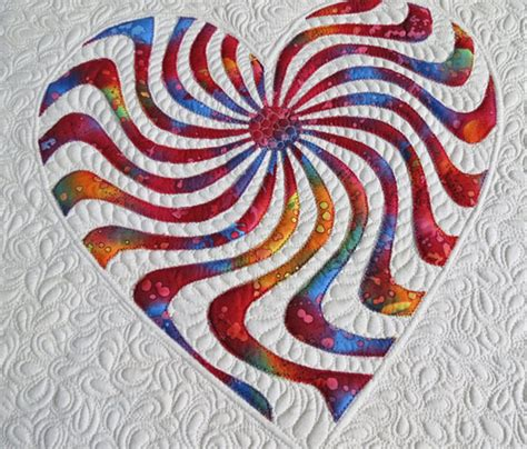 pattern for a heart quilt applique heart quilt pattern happy heart geta s