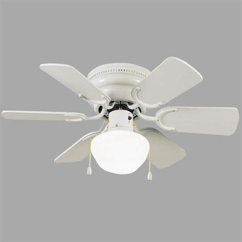 home depot hugger ceiling fans design house atrium 30 in white ceiling hugger fan 152991