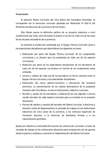 Diseño Curricular Jurisdiccional Definicion Dise 209 O Curricular Jurisdiccional Ciclo B 193 Sico De La Educaci 211 N Secun
