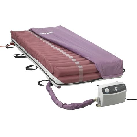 Low Pressure Air Mattress by Med Aire Low Air Loss Mattress Replacement System With
