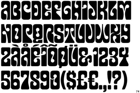 typography 1960s hydration station font time