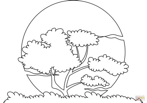sunset sun coloring page free printable coloring pages