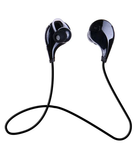 Headset Xiaomi Redmi 1s chkokko qy7 bluetooth headphone headset earphone with mic black available at snapdeal for rs 599