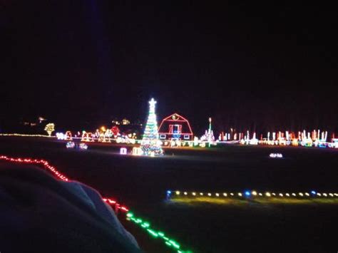 places to see christmas lights in nc christmas lights picture of hill ridge farms