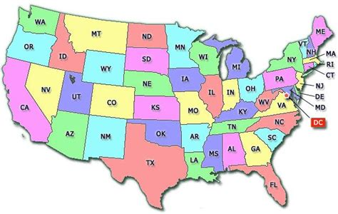 map of united states showing state boundaries 76 best great maps images on