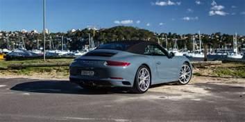 Convertible Porsche 2016 Porsche 911 Cabriolet Review Caradvice