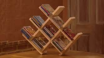 diy cd storage how to build a wooden cd rack youtube